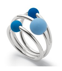JRS034-5 Rumbasoul Blue Ring