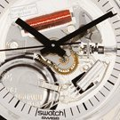 Skeleton Swatch Watch with White Dial Colecção Outono/Inverno Swatch
