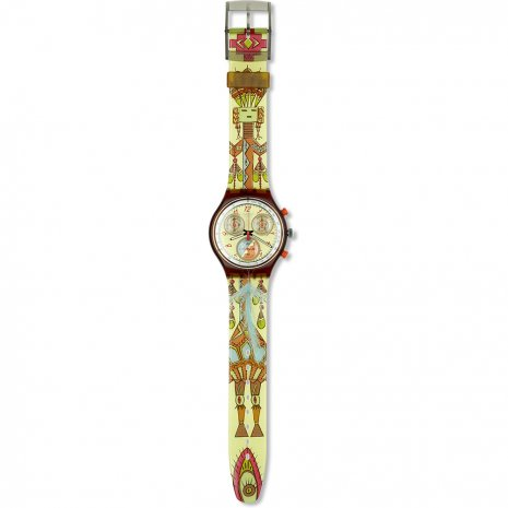 Swatch Dancing Feathers relógio
