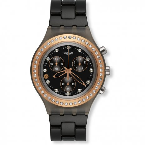 Swatch Full-Blooded Black relógio