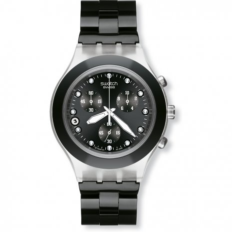 Swatch Full-Blooded Night relógio