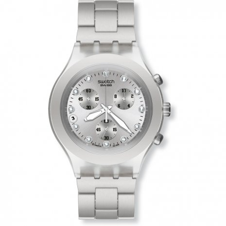 Swatch Full-Blooded Silver relógio