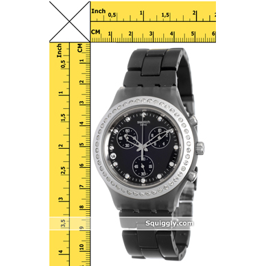 f820be774d4 relógio Swatch SVCM4009AG - Full-Blooded Silver