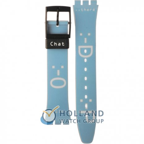 Swatch GB188 Chat-Net Bracelete