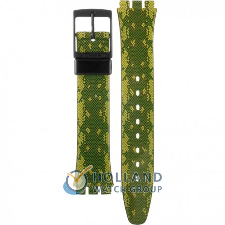 Swatch GB253 Snaky Green Bracelete