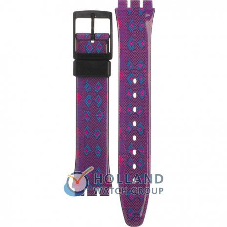 Swatch GB256 Snaky Purple Bracelete